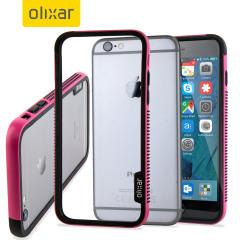 Klä upp och skydda din iPhone 6S Plus med en bumper ram i rosa. Olixars FlexiFrame ger skydd till din telefon utan att lägga till någon extra bulk