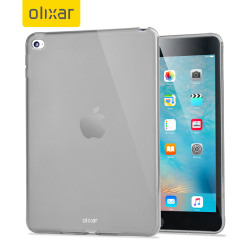 Funda iPad Mini 4 Olixar FlexiShield - Blanca Opaca