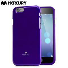 Mercury Goospery Jelly iPhone 6S / 6 Gel Case Hülle in Lila
