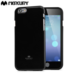 Mercury Goospery Jelly iPhone 6S Plus / 6 Plus Gel Hülle in Schwarz