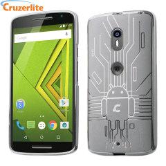 Cruzerlite Motorola Moto X Play Bugdroid Circuit Skal- Klar