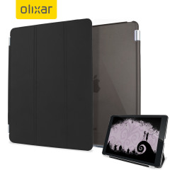 Funda iPad Mini 4 Olixar Smart Cover con Carcasa Rígida - Negra