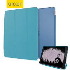 Funda iPad Mini 4 Olixar Smart Cover con Carcasa Rígida - Azul