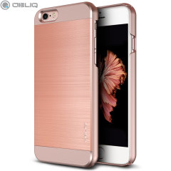 Protect your Apple iPhone 6S Plus / 6 Plus with the Obliq Slim Meta II Series case in rose gold, which protects as well as providing a stunning full body protection in an attractive dual-textured design.