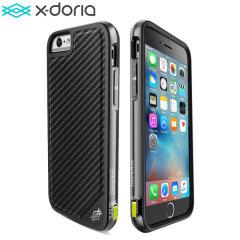 X-Doria Defense Lux iPhone 6S / 6 Hülle in Black Carbon