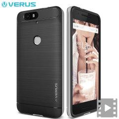 Verus High Pro Shield Series Nexus 6P Case - Satijn Zilver