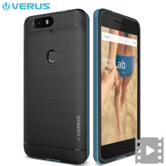 Verus High Pro Shield Series Nexus 6P Case - Elektrisch Blauw
