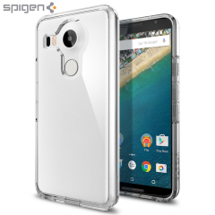Protect the back and sides of your Nexus 5X without affecting the dynamics of the design with this crystal clear, Ultra Hybrid case from Spigen.
