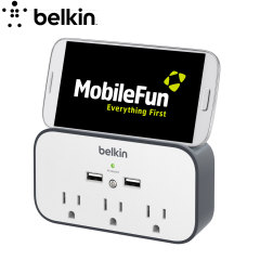 Belkin USB US Wall Mount Surge Protector with Cradle