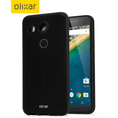 Custom moulded for the Nexus 5X, this solid black FlexiShield gel case from Olixar provides excellent protection against damage as well as a slimline fit for added convenience.