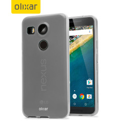 Funda Nexus 5X FlexiShield Gel - Blanca Opaca