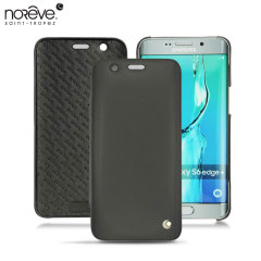 Noreve Tradition D Samsung Galaxy S6 Edge Plus Leather Case - Black