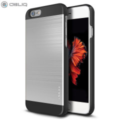 Obliq Slim Meta II Series iPhone 6S Plus / 6 Plus Hülle in Silber