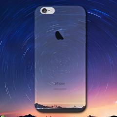 Ultra-Thin iPhone 6S TPU Gel Case - Night Swirl