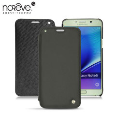 Noreve Tradition D Samsung Galaxy Note 5 Leather Case - Black