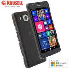 Krusell Boden Microsoft Lumia 950 Case Hülle in Schwarz