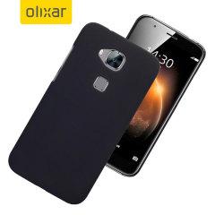 FlexiShield Huawei G8 Gel Case - Solide Zwart