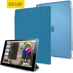 Olixar iPad Pro Smart Cover with Hard Case - Blauw