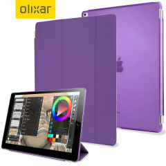 Olixar iPad Pro Smart Cover with Hard Case - Paars