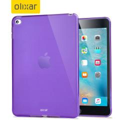 Coque iPad Mini 4 Gel FlexiShield - Violette