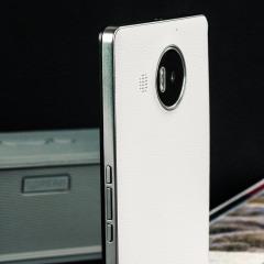 Mozo Microsoft Lumia 950 XL Batterieabdeckung in Weiß