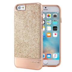 Prodigee Sparkle Fusion Glitter Case iPhone 6S / 6 Hülle in rosen-gold