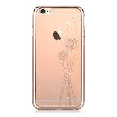 Crystal Ballet iPhone 6S Plus / 6 Plus Skal - Champagneguld