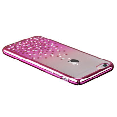 Unique Polka 360 iPhone 6S Plus / 6 Plus Case Hülle in Rosa Gold