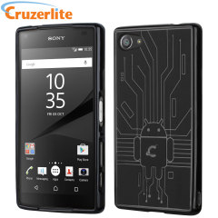 Cruzerlite Bugdroid Circuit Sony Xperia Z5 Compact Hülle in Schwarz