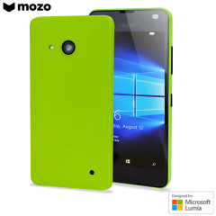 This Mozo back cover case in green protects your Microsoft Lumia 550 while giving your device a bright new look. The case is also 'Designed for Microsoft Lumia', so you can be sure of a perfect fit matching Microsoft's high standards.