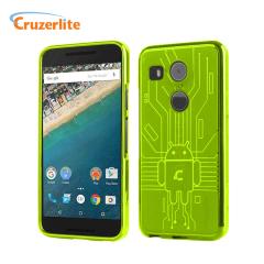 Cruzerlite Bugdroid Circuit Nexus 5X Case Hülle in Grün