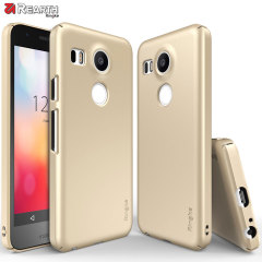 Rearth Ringke Slim Case Nexus 5X Hülle in Gold
