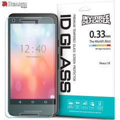 The Rearth ID Glass 9H Tempered Glass Screen Protector for the Nexus 5X has been developed to be ultra-responisve, feature HD clarity and is made from slim, scratch resistant glass to protect the 5X's precious screen from impacts.