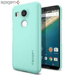 Spigen Thin Fit Nexus 5X Hülle in Mint