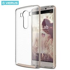 VRS Design Crystal Bumper LG V10 Case Hülle in Shine Gold