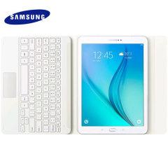 Official Samsung Galaxy Tab S2 9.7 Bluetooth Keyboard Case - White
