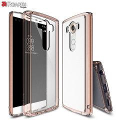 Rearth Ringke Fusion LG V10 Case - Gold Crystal