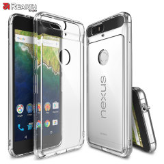 Protect the back and sides your Nexus 6P with this incredibly durable and crystal clear backed Fusion Case by Ringke.