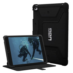The UAG Scout Rugged Folio Case in black keeps your iPad Mini 4 protected with a lightweight, but highly protective honeycomb composite interior, with a tougher outer case, ensuring the perfect combination of style and security.