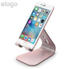Elago M2 Aluminium-Style Universal Smartphone Tischständer Rosen Gold