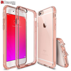 Rearth Ringke Fusion Case iPhone 6S / 6 Hülle in Rosa Gold Kristall