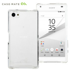 CaseMate Slim Tough Naked Case Sony Xperia Z5 Compact Hülle in Klar