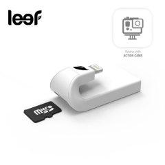Leef iAccess Micro SD Lesegerät für iOS Geräte in Weiß