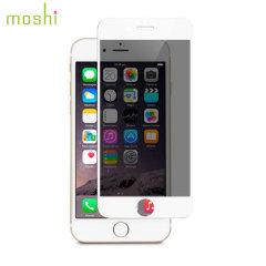 Moshi iVisor iPhone 6S / 6 Glas Displayschutz in Weiß
