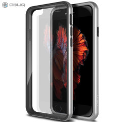 Obliq MCB One Series iPhone 6/6S Bumper Case Hülle in Satin Silber