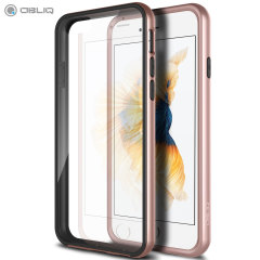 Coque iPhone 6/6S Obliq MCB One Series - Rose Or