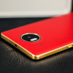 Mozo Microsoft Lumia 950 XL Batterieabdeckung in Rot