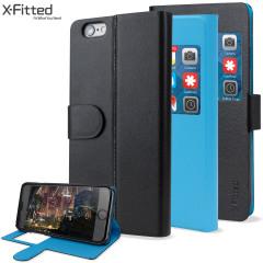 X-Fitted Magic Colour iPhone 6S Plus / 6 Plus View Case - Black / Blue