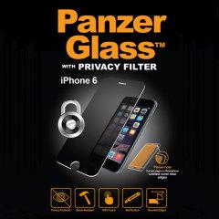 PanzerGlass iPhone 6S / 6 Privacy Glas Displayschutz