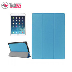 Tuff-Luv iPad Pro 12.9 inch Leather-Style Case and Armour Shell - Blue